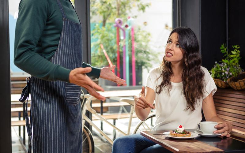 Så vinner du kunden som klagar. Foto: Getty Images