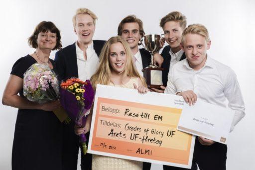 Läxhjälp för idrottare blev UF-vinnare