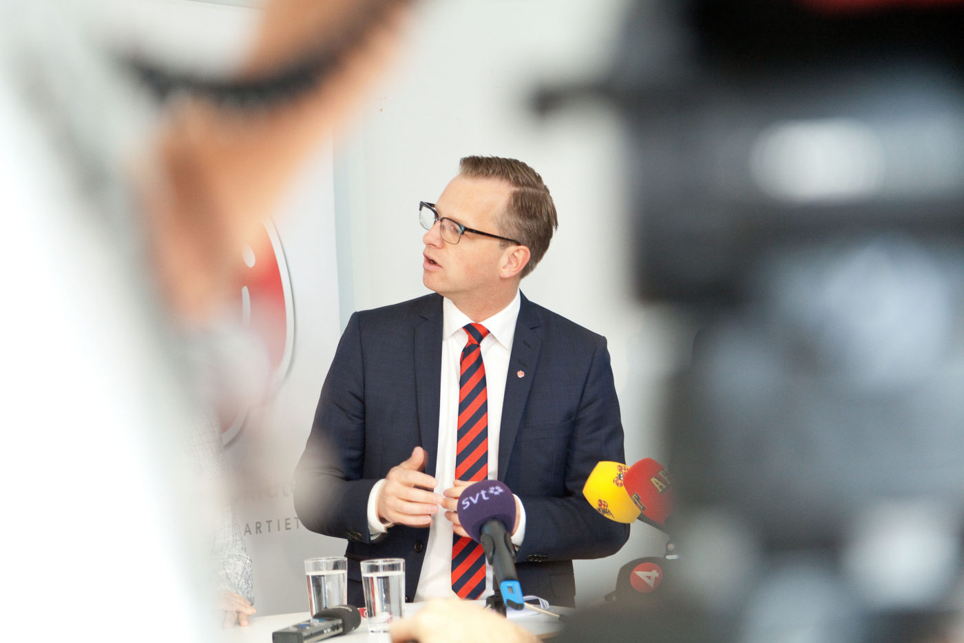 <![CDATA[Näringsminister Mikael Damberg. Foto: Phil Jamieson.]]>