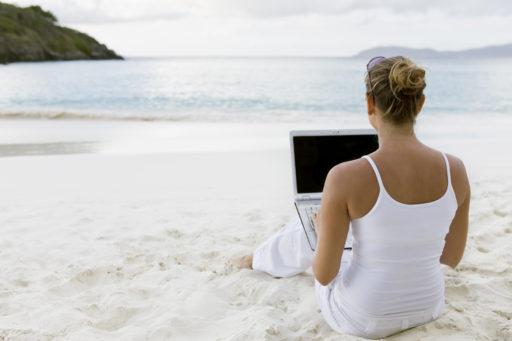 Starta eget företag – från stranden