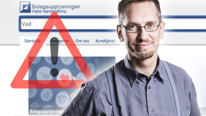 <![CDATA[Vår Expert Anders Nyman varnar nu för Bolagsupplysningen, Foto ]]>