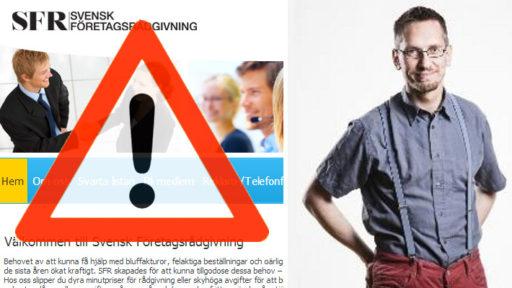 Så hanterar du bluffakturor från Svensk Företagsrådgivning