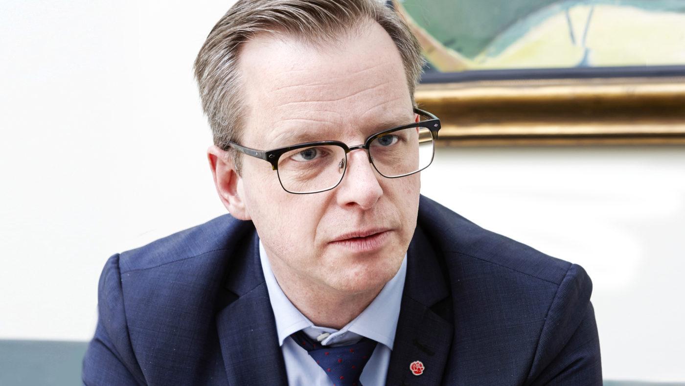 <![CDATA[Mikael Damberg. Foto: Thomas Hjertén]]>