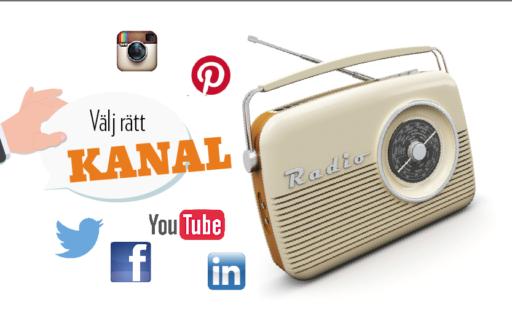 Lyckas med sociala medier – här är rätt kanal för just dig
