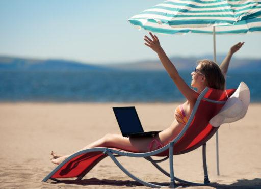 Få semesterdagar för småföretagare