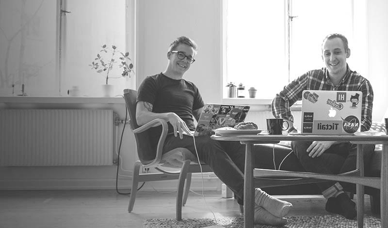 <![CDATA[Niklas Laninge och Björn Henriksson Foto: Pressbild Daily Bits Of]]>