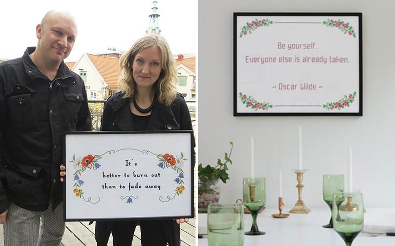 <![CDATA[Sofia och Oskar bakom företaget The Folklore company .Foto: Gary Landström och Nadim Elazzeh ]]>