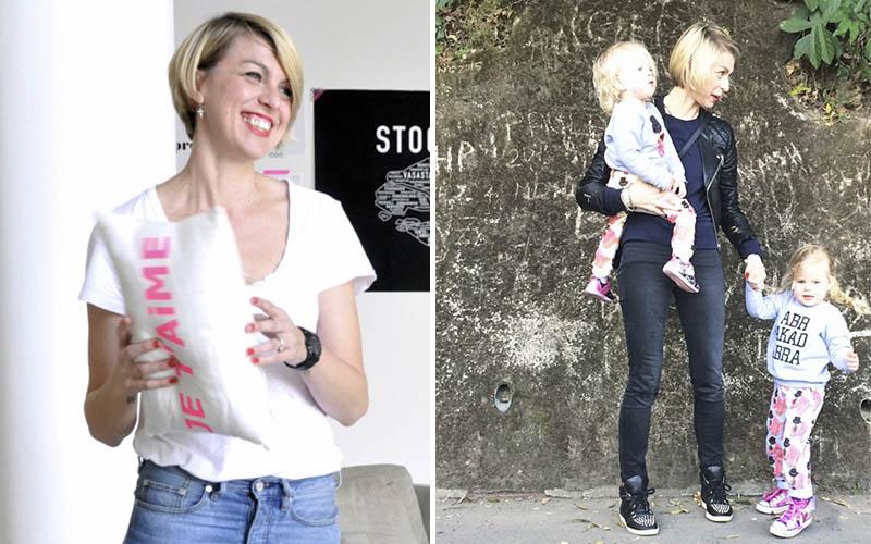 <![CDATA[Kristin Nyström med barn Foto: Marika Salokangas och privat]]>