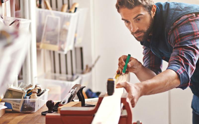 Lönsamheten rekordhög för småföretagare i byggbranschen