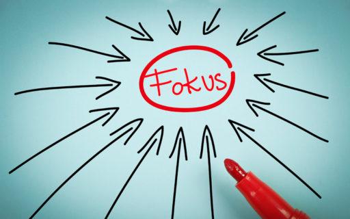 Hitta fokus i tre steg – så gör du