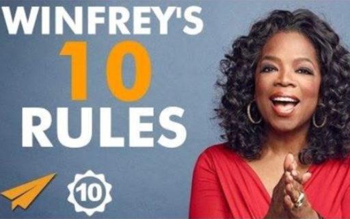 Så når du framgång – Oprahs 10 budord