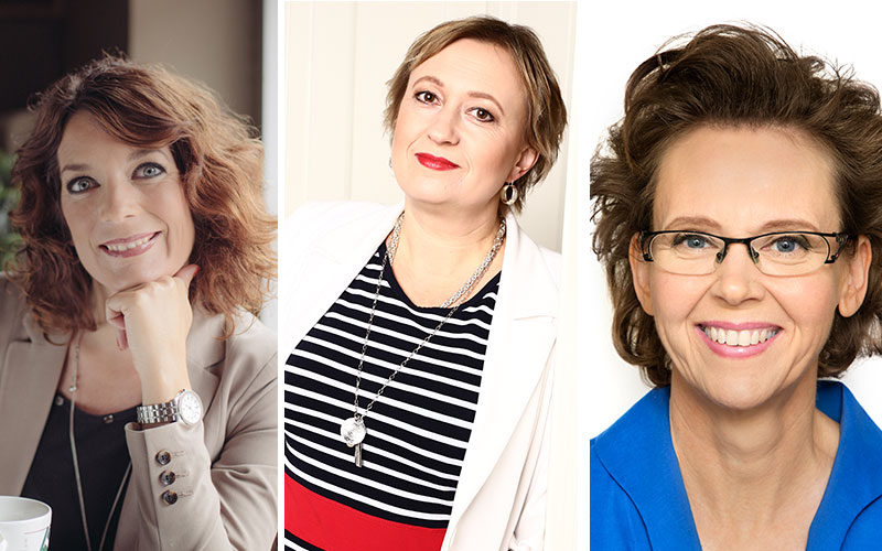 <![CDATA[Linda Björck, Dora Vig Bjon och Charlotte Ahlberg]]>