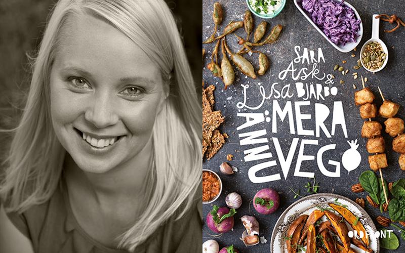 """<![CDATA[Lisa Bjärbo har gett ut ett tjugotal böcker – bland annat romaner, barnböcker och är mest aktuell med kokboken """"Ännu mera vego"""". Foto: Leif Hansen och Ordfront förlag (omslag).]]>"""