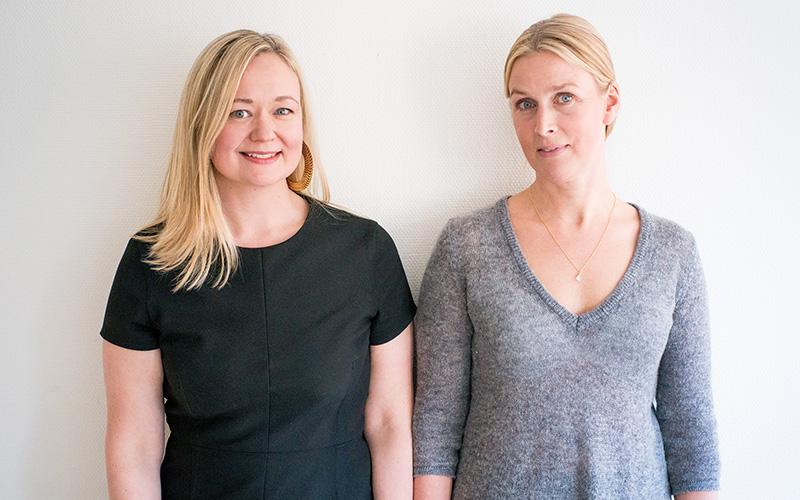 <![CDATA[Sofia Rasmussen och Viktoria Höglund. Foto: Pressbild]]>