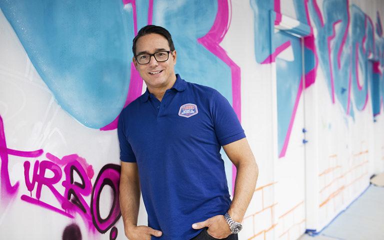 Theo Blanco satsade på ett helt nytt koncept – med rörelse i fokus