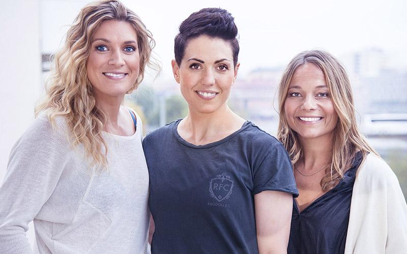 <![CDATA[Erika Kits Gölevik, Jessica Clarén och Kristin Ekberg är grundare av Healthy Living, ett bloggnätverk och digitalt hälsomagasin. Foto: Pressbild]]>