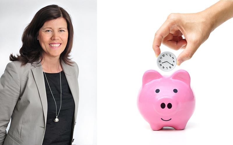 <![CDATA[Tua Holgersson, VD för Länsförsäkringar Fondliv, tipsar om din tjänstepension. Foto: Pressbild och Istock ]]>