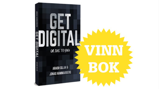 Bli digitalt smart – vinn boken som hjälper dig