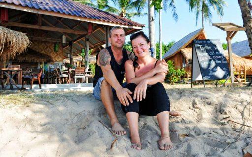 Så fixade Caroline & Jens sitt drömliv i Thailand