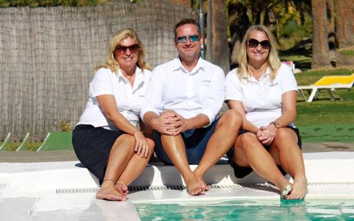 Jenny & Niclas driver hemtjänst på Kanarieöarna
