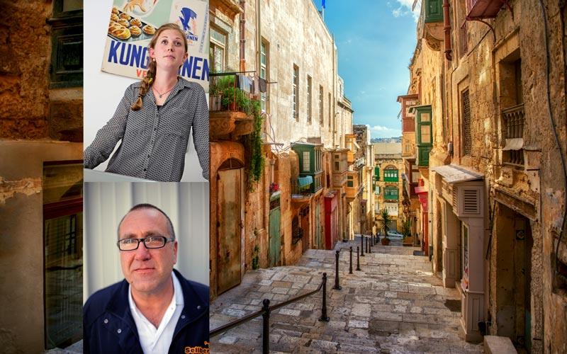 <![CDATA[Linda Backlund driver Little Sweden tillsammans med sin man i Sliema, Malta. Ove Sellberg är så kallad self employed på Malta och kör därmed sin egen taxi. FOTO DANIEL LAGERQVIST & GETTY IMAGES]]>