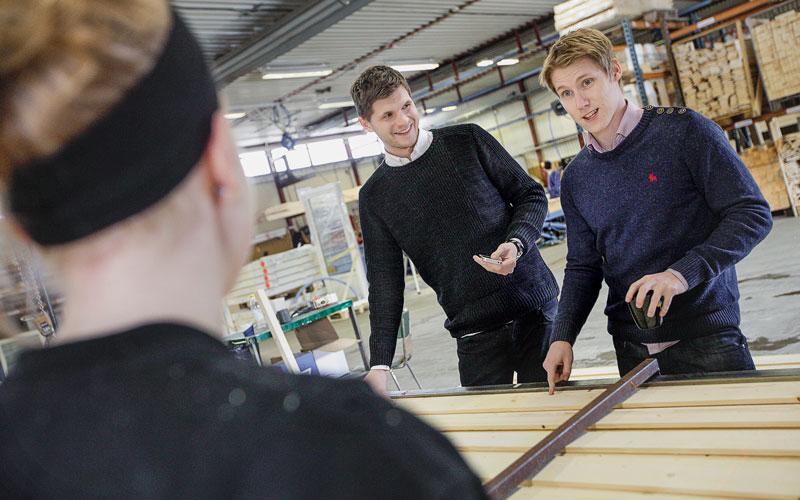 <![CDATA[Jens Lundqvist och Samuel Holmström har gett familjeföretaget ett digitalt lyft.]]>