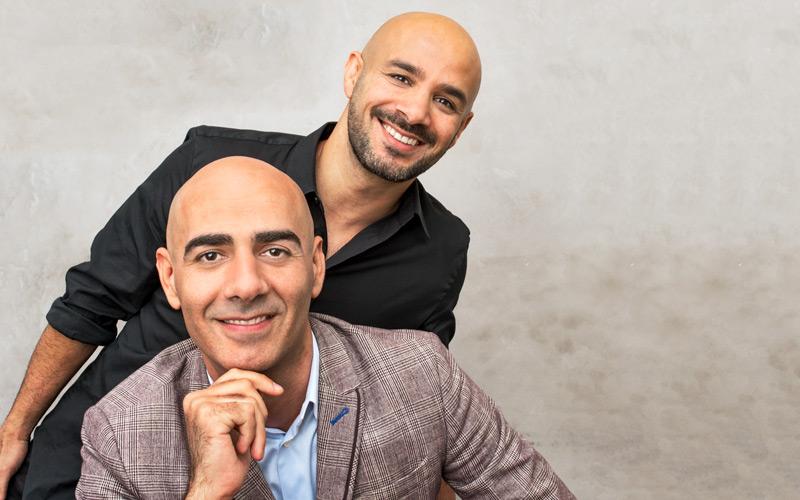 <![CDATA[Man ska inte starta företag med sina vänner, brukar det heta. För Ashkan och Saeid är det rena lyckoträffen! FOTO HANS ALM]]>