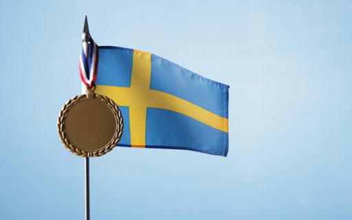 Sveriges går som tåget