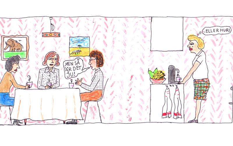 Vad gör man med en chef som vet allt bäst själv? Illustration: Göran Uggla