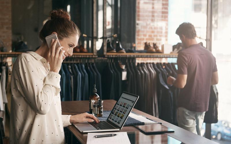 Satsa på e-handel och bygg din egen webbshop. Fotot: Getty Images