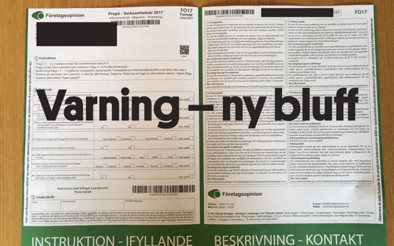 Varning för ny estnisk annonsbluff