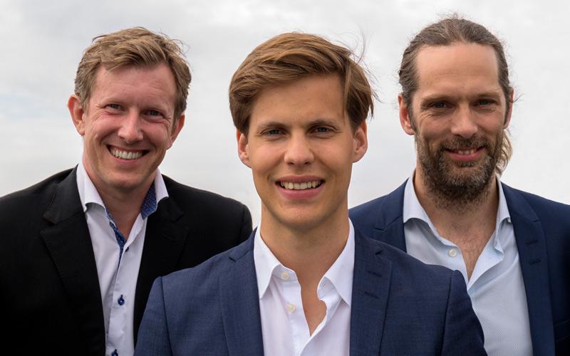 <![CDATA[De tre killarna bakom bolaget Century Analytics.]]>