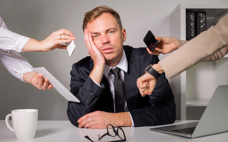 <![CDATA[Teknikstressen är ett nytt arbetsmiljöproblem. Foto: Getty images]]>