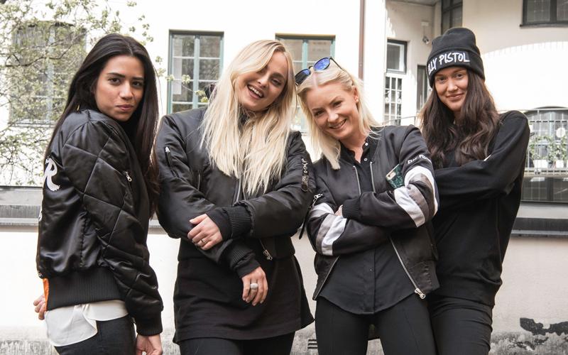 <![CDATA[Teamet bakom Elly Pistol med Cecilia de Champs som nummer tre från vänster.]]>