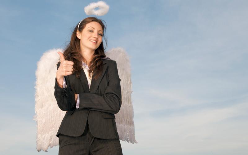 <![CDATA[En affärsängel kan bidra med mer än pengar. Foto: Getty Images]]>