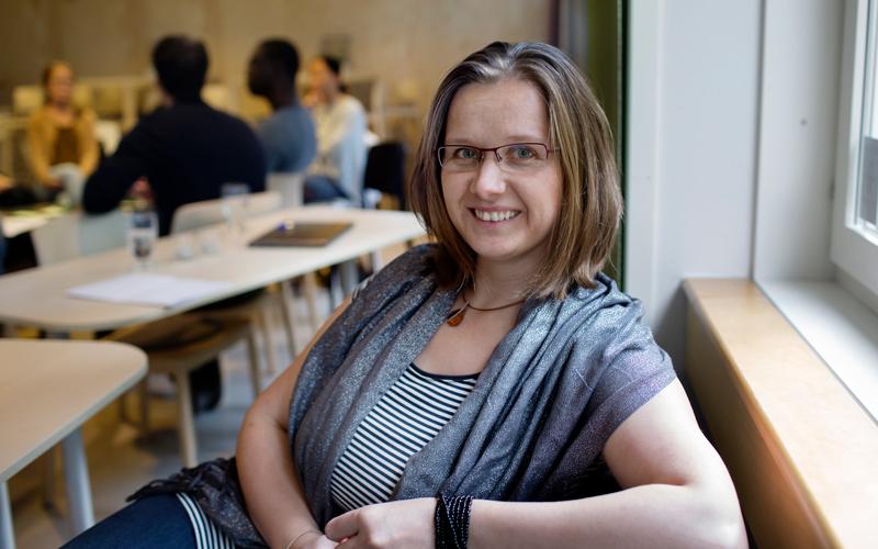 <![CDATA[Barbara Terebieniec deltar i startur-program vid Umeå universitet.]]>