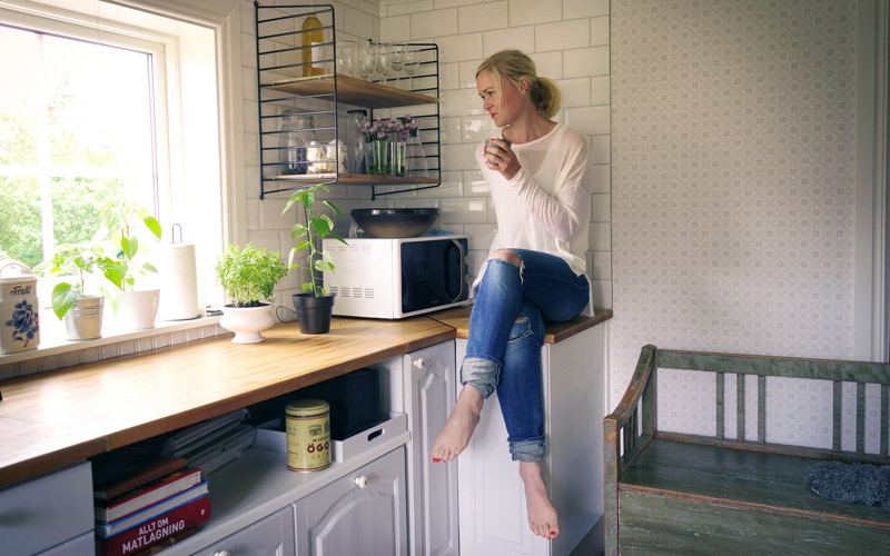 <![CDATA[Mikroinfluencern gav fart åt elbolaget. Foto: Elna Dahlstrand]]>