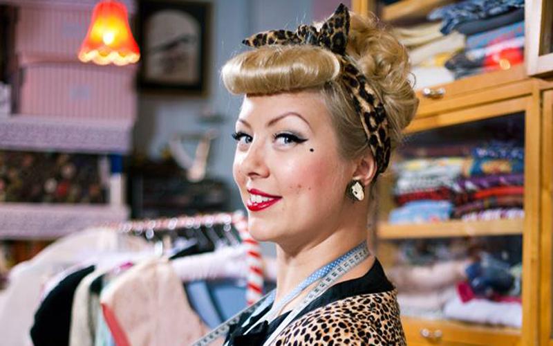 Efter år av slit – nu gör hennes vintageföretag succé
