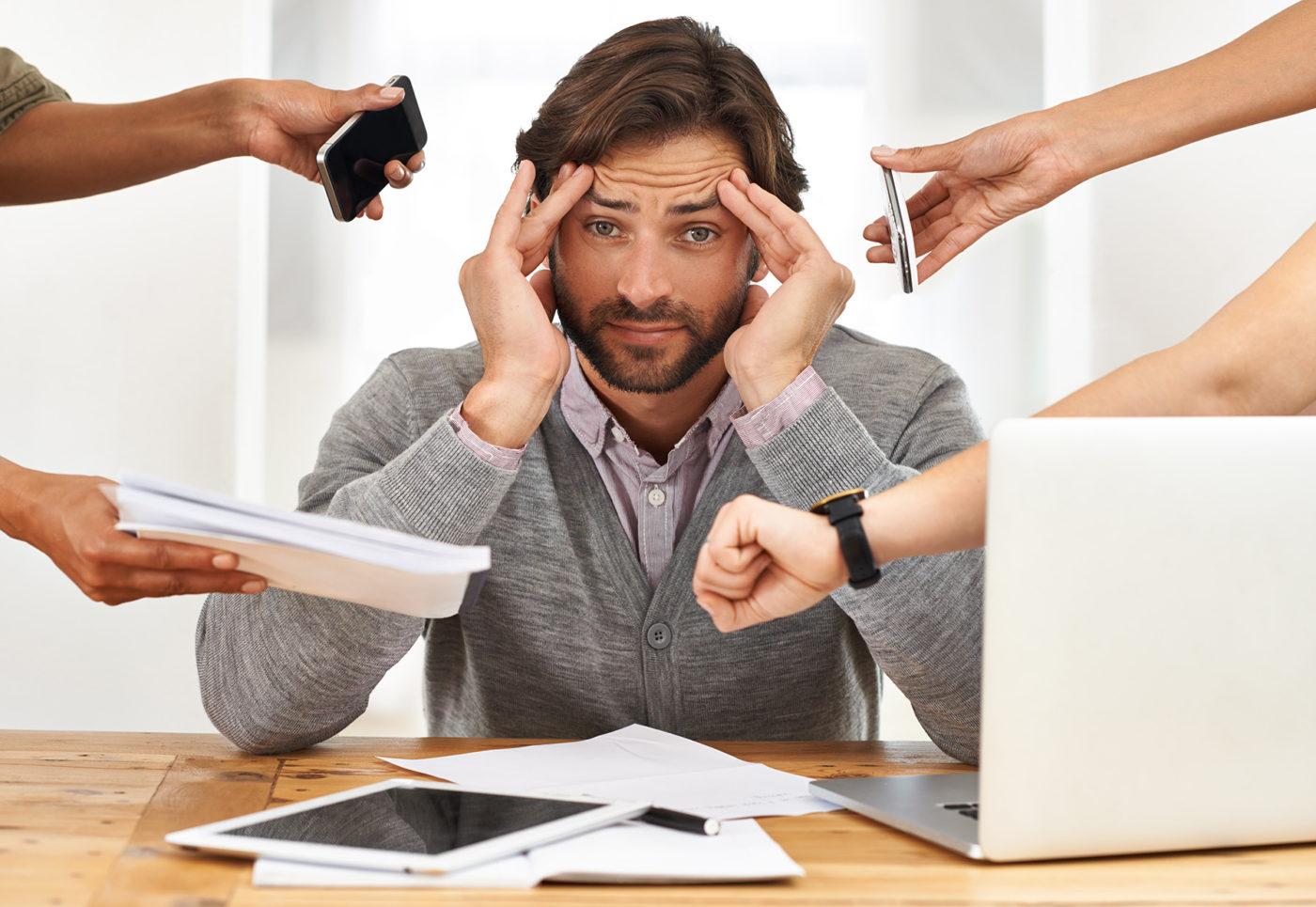 Mindre stress med appar. Foto: Getty Images