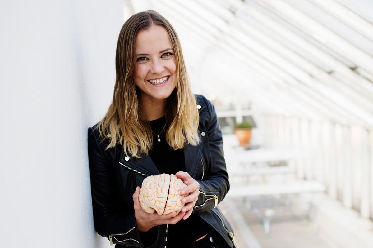 Katarina Gospic tipas om hur du ska ta hand om di hjärna. Foto: Jenny Hammar