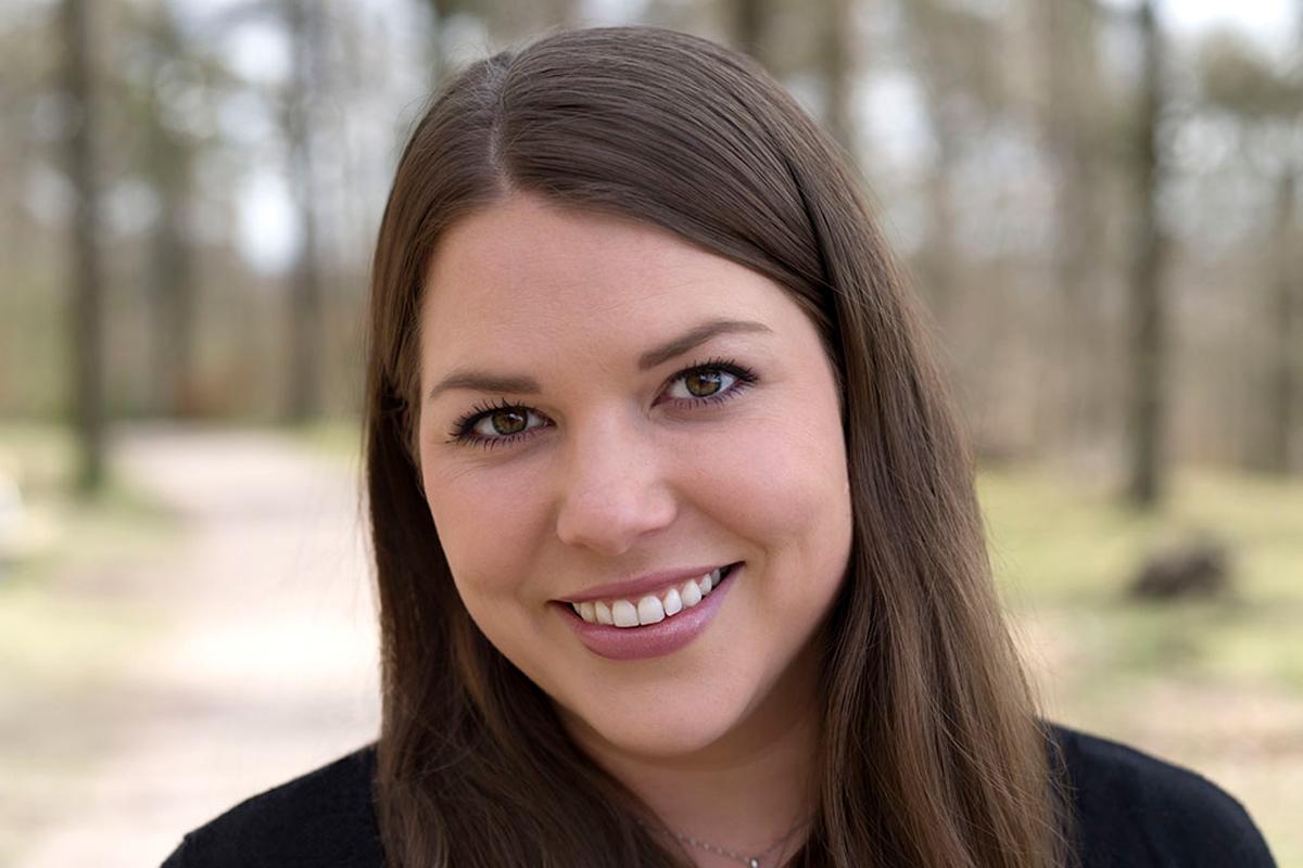 Lisa Perby med sin menskopp utmanar jättarna i hygienbranschen.