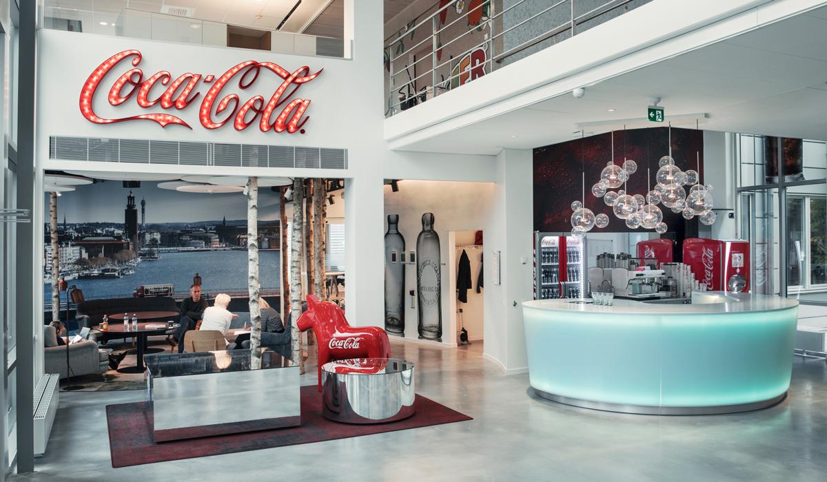 Coca-Cola har världens bästa kontor – i Jordbro