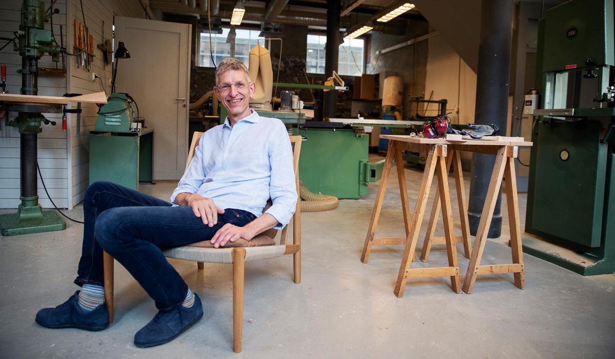 Nitvan Richter är Norrgavels grundare. Foto: Nils Petter Nilsson
