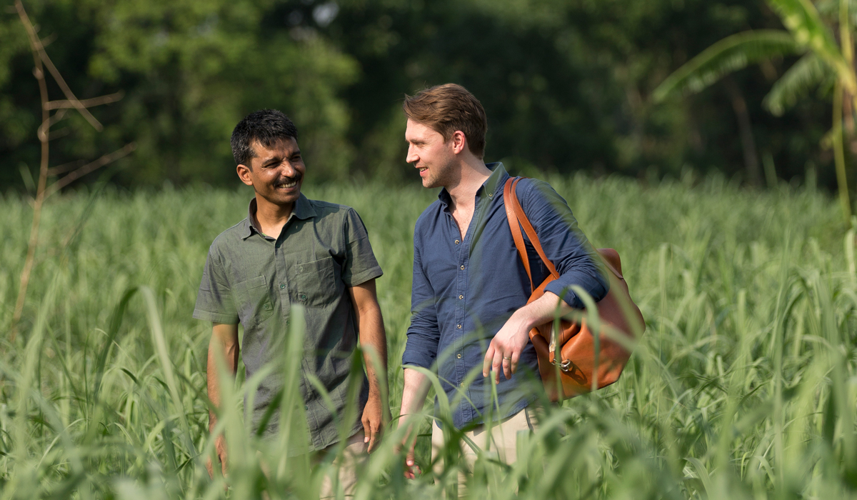 Tulin och Anders driver företaget ihop på två olika kontinenter.