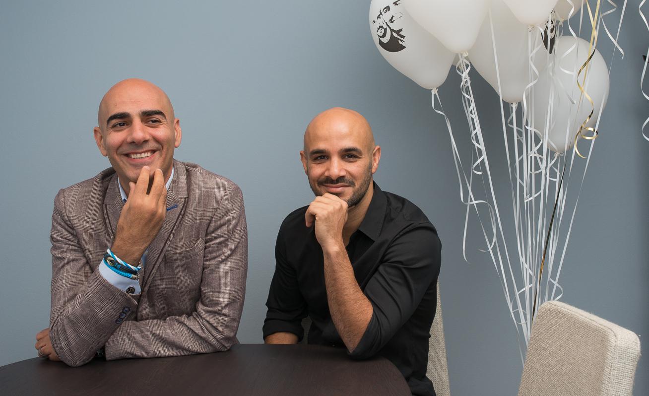 Saeid Esmaeilzadeh och Ashkan Pouya säljer sitt första bolag för miljardbelopp. FOTO HANS ALM