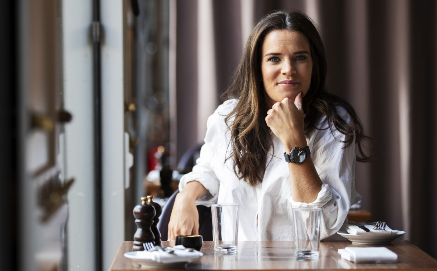 Serieentreprenören Anna Benson. FOTO NILS PETTER NILSSON