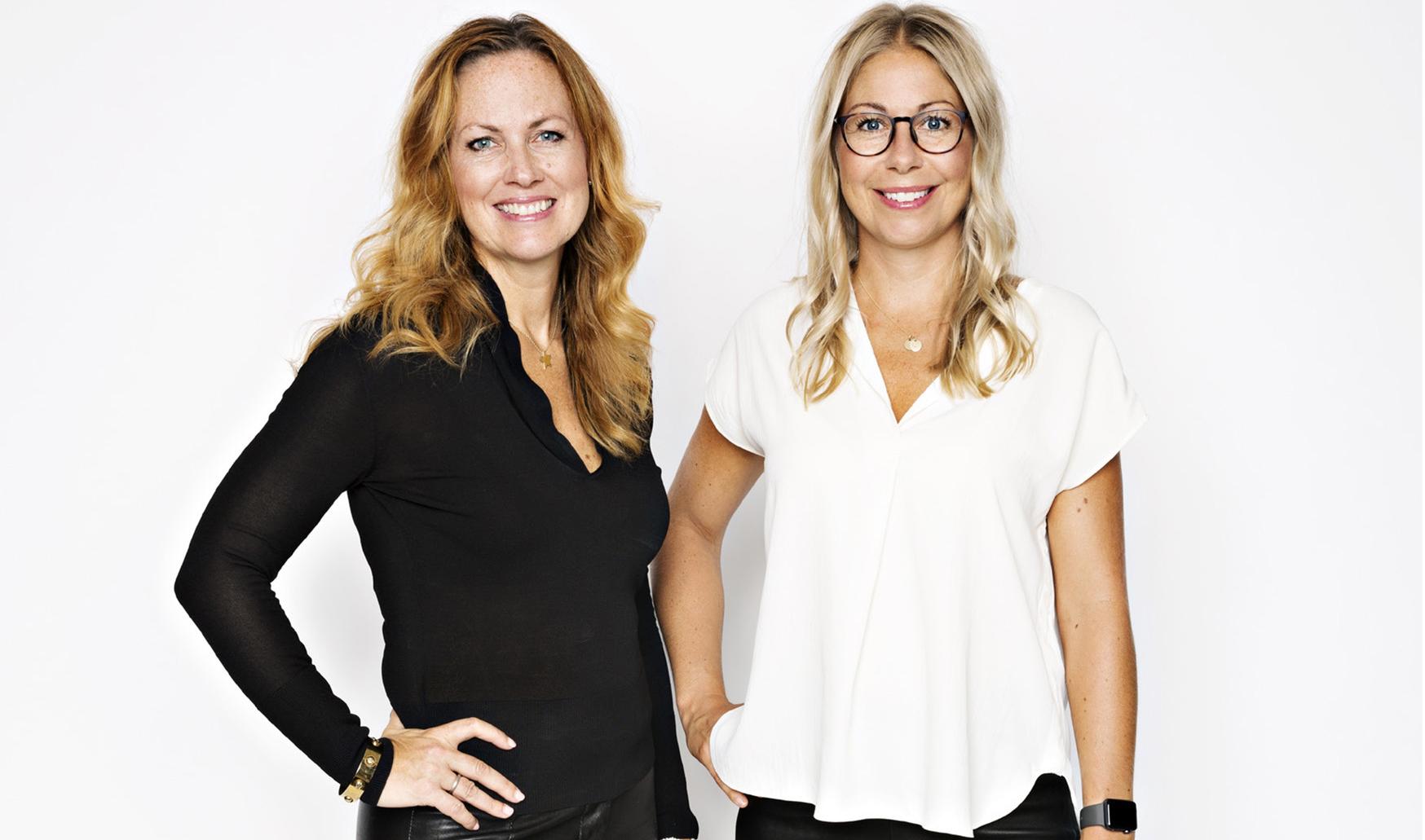 Rekryteringsproffsen Ann-Christine Stafwerfeldt och Josefin Malmer.