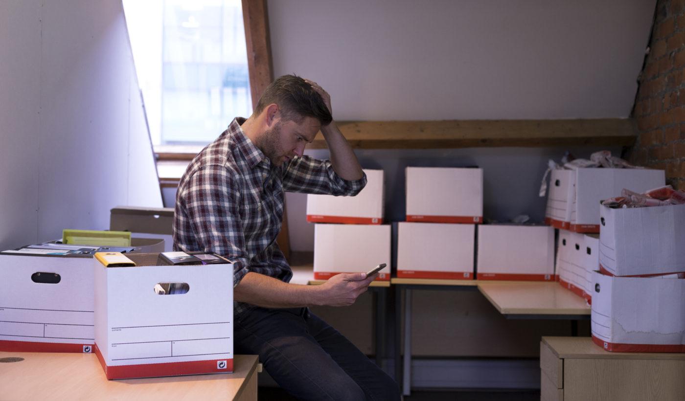 Fulsäljet drabbar småföretagare