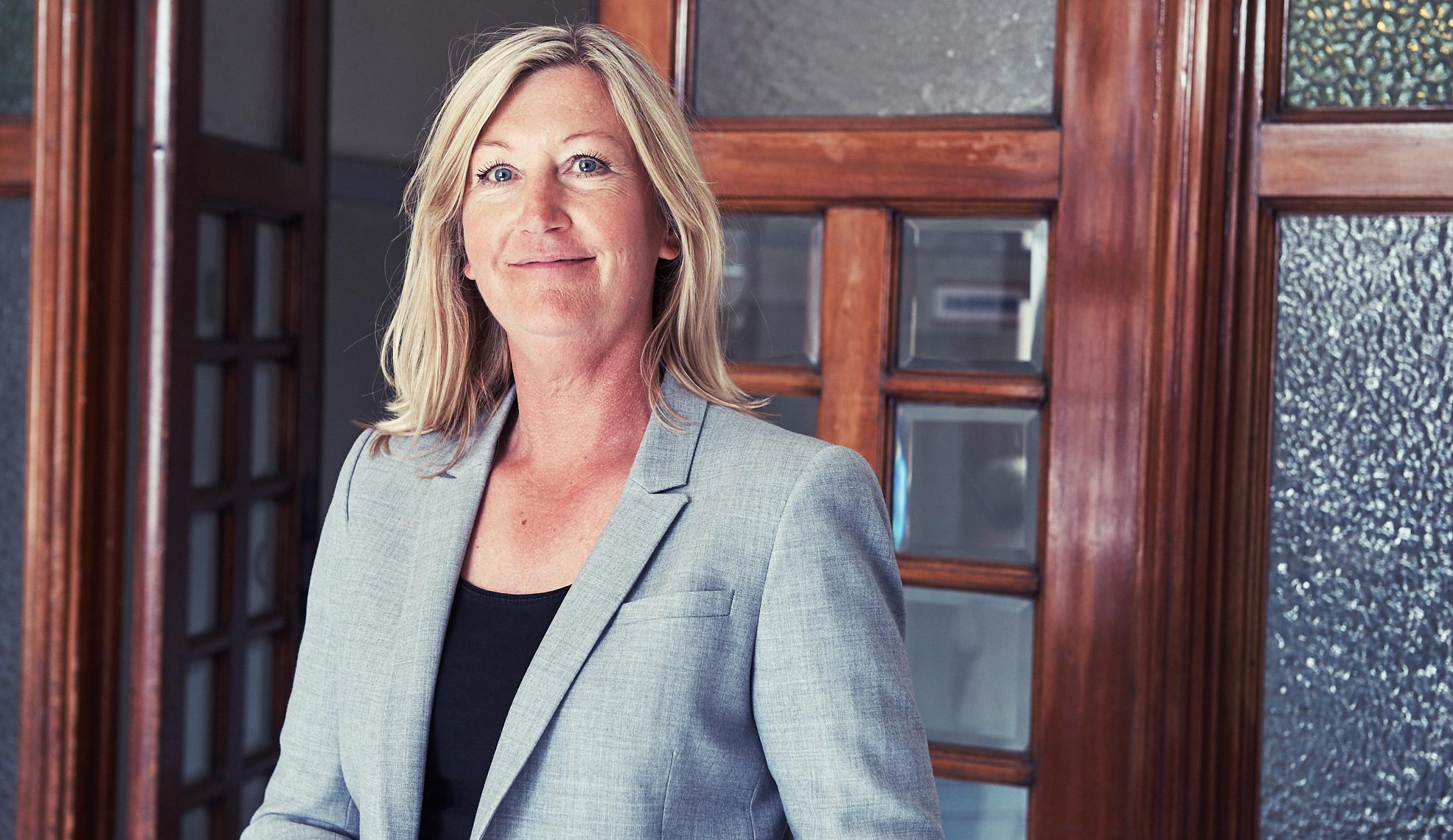 Marie Bubachs mentor hjälper till genom att utmana och prioritera.