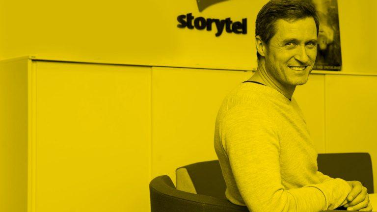 Från Draknästet till miljardsuccé – möt Storytels Jonas Tellander